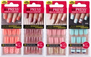 ImPRESS Accent Press-on manicure